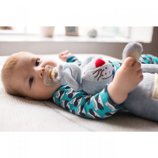 【JAKO-O】兔子玩偶-藍色 玩偶,安撫,玩具,抱枕