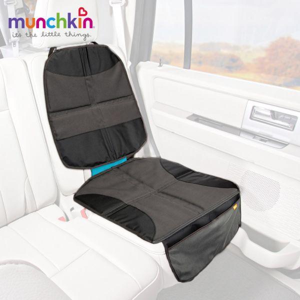 munchkin滿趣健-汽座保護墊+置物袋 幼童 餵食 吸盤碗 不倒