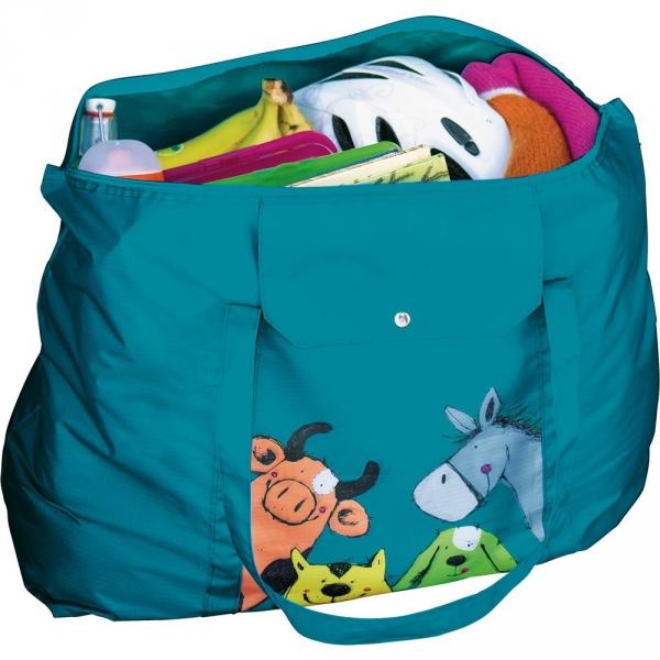 【JAKO-O】動物園摺疊包 德國,JAKO-O,收納袋,摺疊包,收納,書包,背包,包包,行李箱,校園,生活學習,教育