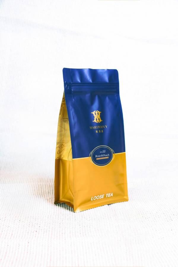 NO.22 蜜桃玫瑰紅茶散茶袋