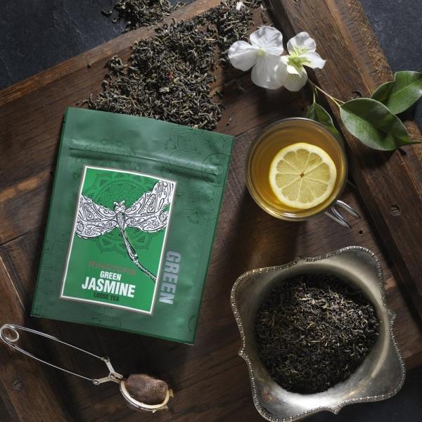 茉莉花綠茶散茶包