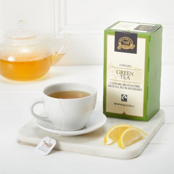 公平交易綠茶25入茶包