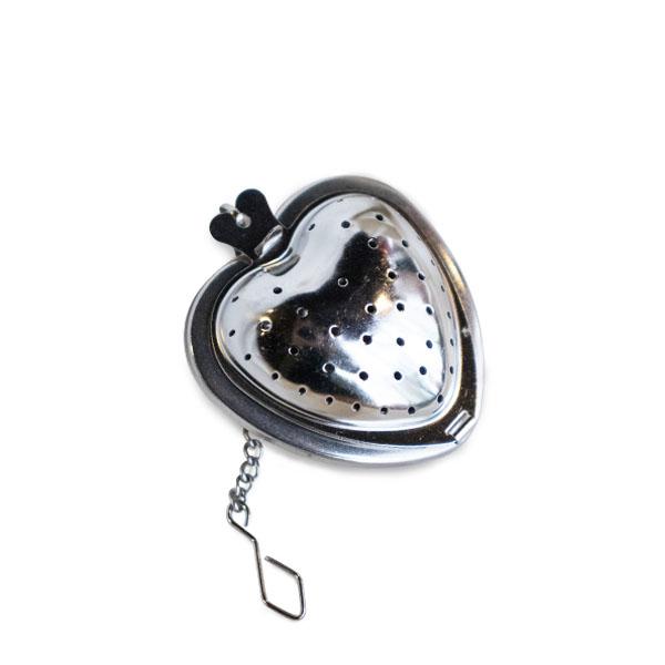 心型濾茶球(銀)