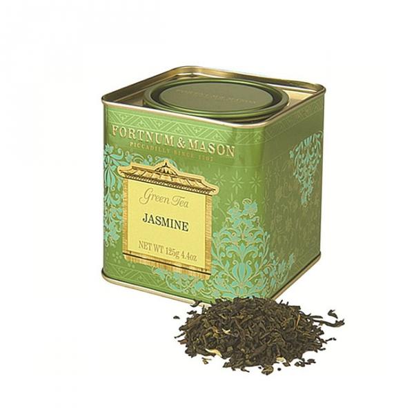 茉莉花綠茶罐