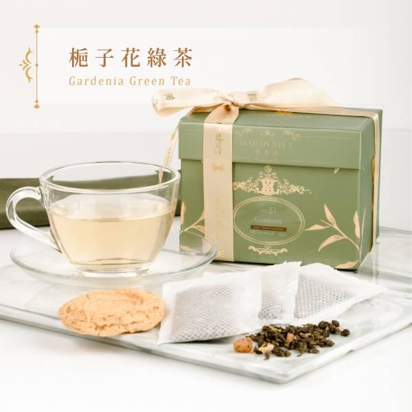 No.51梔子花綠茶25入大葉裸茶包