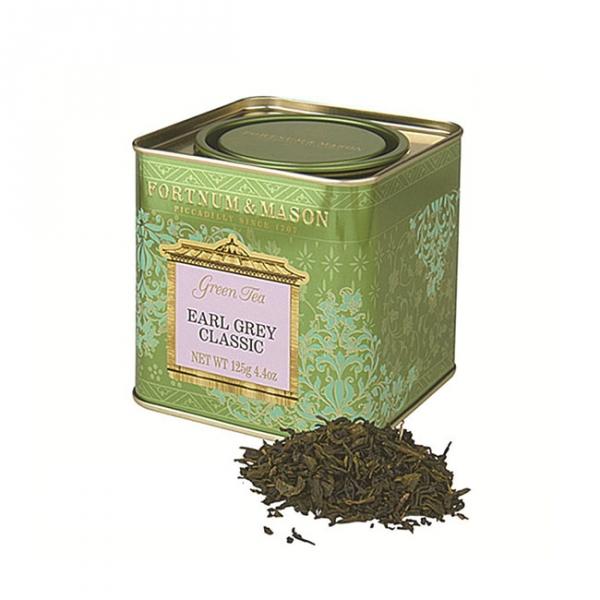 伯爵綠茶罐