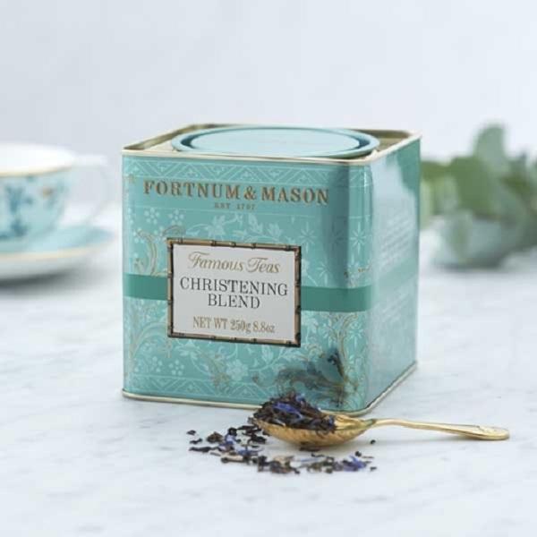 慶典混紡紅茶罐