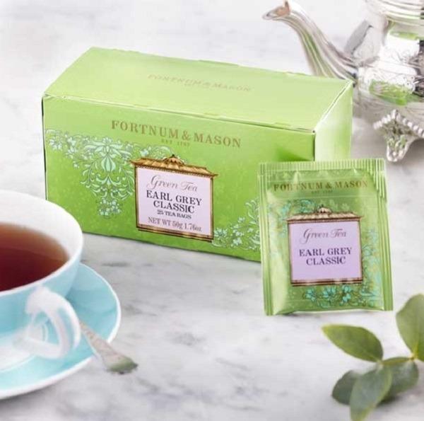 伯爵綠茶25入茶包