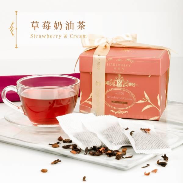 No.101草莓奶油茶25入大葉裸茶包