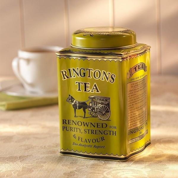 綠煎茶茶罐
