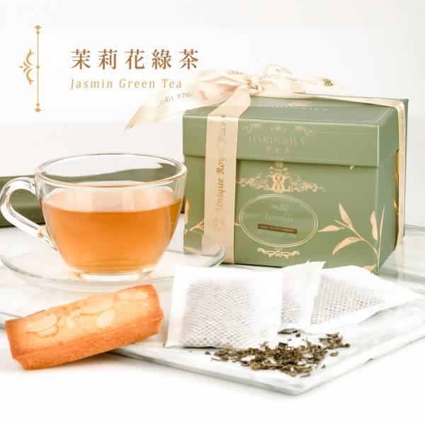 No.52茉莉花綠茶25入大葉裸茶包