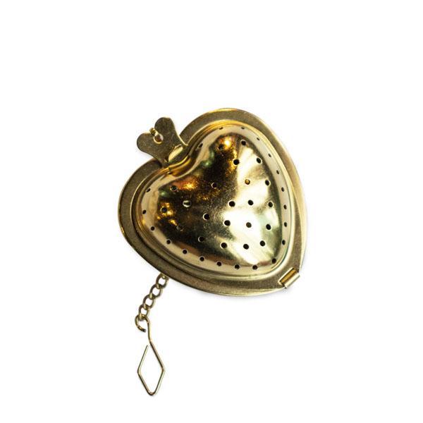 心型濾茶球(銅)