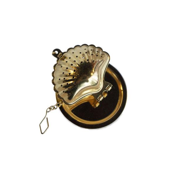 貝殼濾茶球(金)