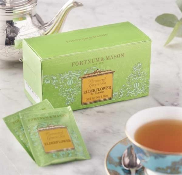 接骨木花綠茶25入茶包