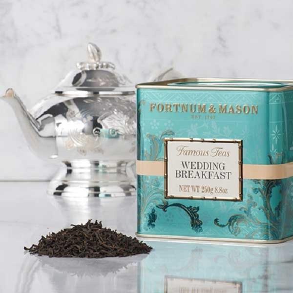 婚禮早餐混紡紅茶罐