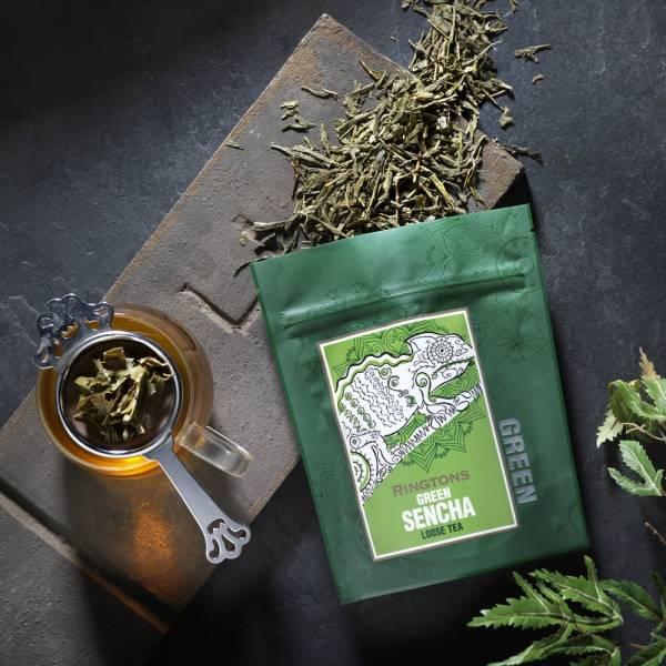 綠煎茶散茶包