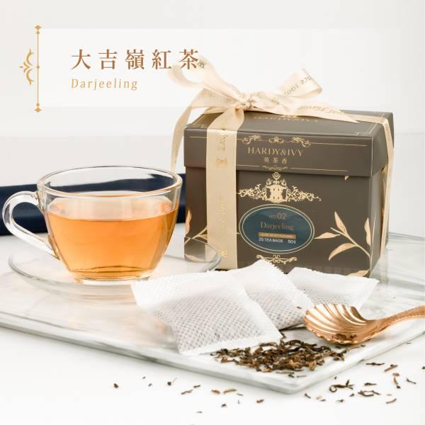 No.02大吉嶺紅茶25入大葉裸茶包