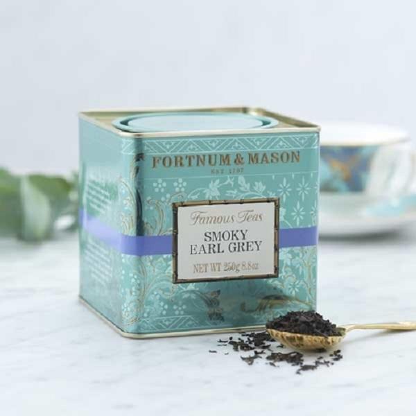 煙燻伯爵混紡紅茶罐