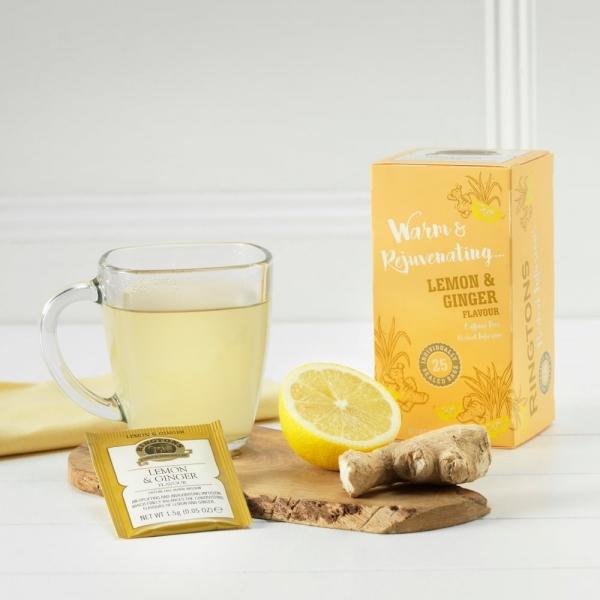 檸檬生薑果乾茶25入茶包