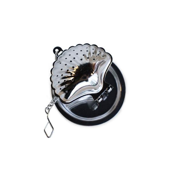 貝殼濾茶球(銀)