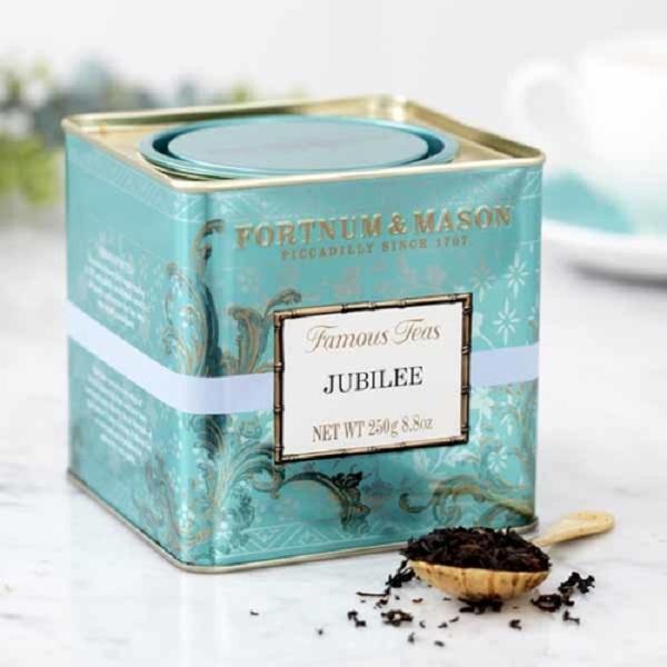 禧混紡紅茶罐