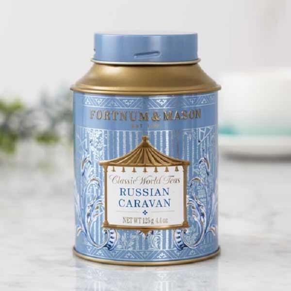 俄羅斯大篷車紅茶罐