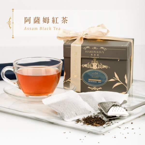 No.04阿薩姆紅茶25入大葉裸茶包