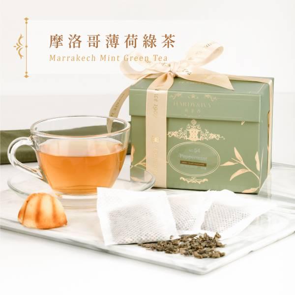 No.54薄荷綠茶25入大葉裸茶包