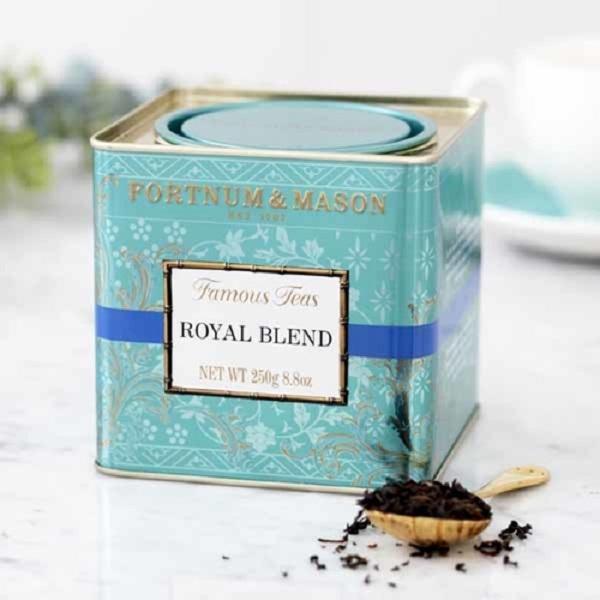 皇家混紡紅茶罐