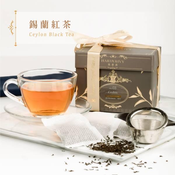 No.03錫蘭紅茶25入大葉裸茶包