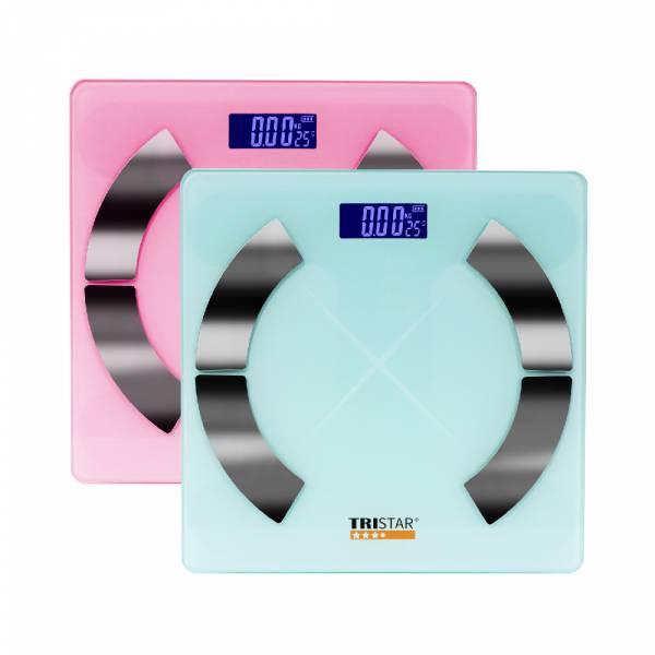 【TRISTAR 三星】 藍芽智能體重計