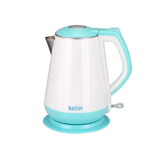 【歌林 Kolin】1.5L雙層防燙不鏽鋼快煮壺