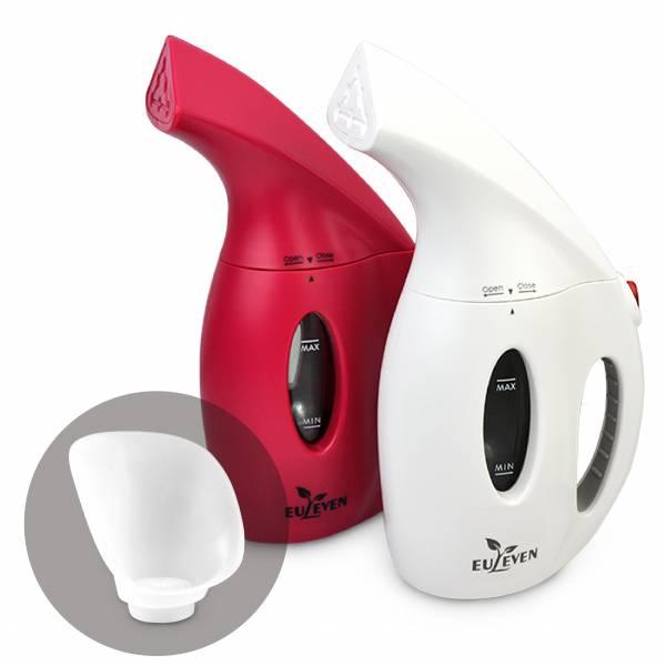 [福利品]【Euleven 有樂紛】蒸氣燙衣機-320ml(含蒸臉罩) 蒸氣燙衣, 除臭, 蒸臉,呵護肌膚