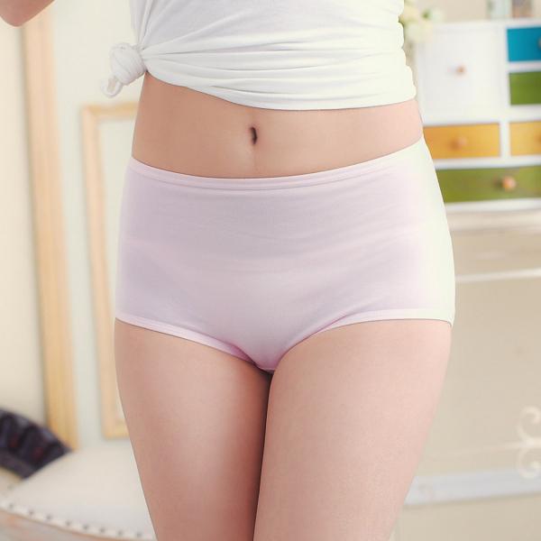 TJP 零著感嫘縈蠶絲中腰褲-粉色