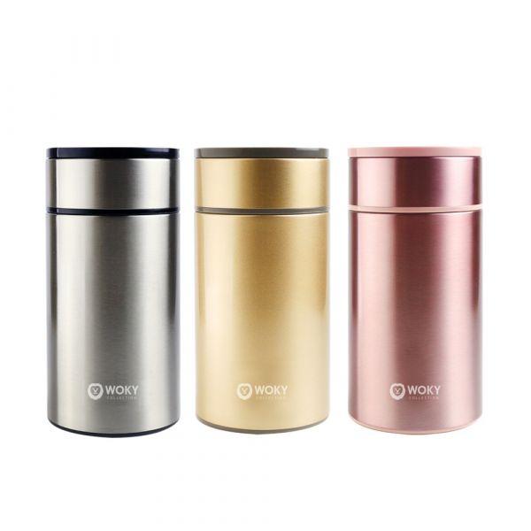 贈品組-316不鏽鋼雙層真空悶燒食物罐1000ML 1 入+矽膠吸管6件組  (數量有限,送完為止)