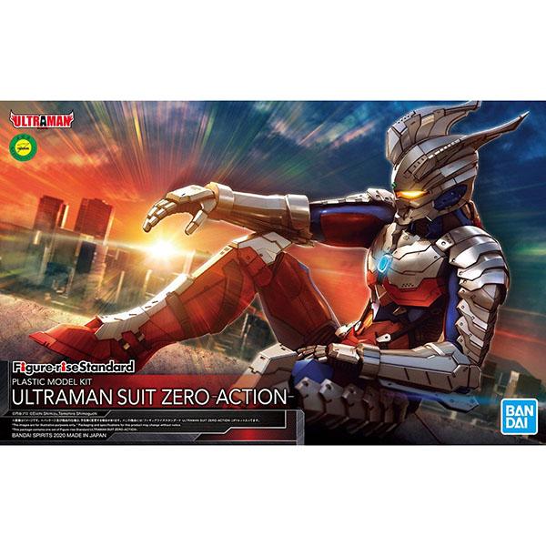 BANDAI 萬代   Figure-rise Standard 超人力霸王戰鬥服   ZERO -ACTION-