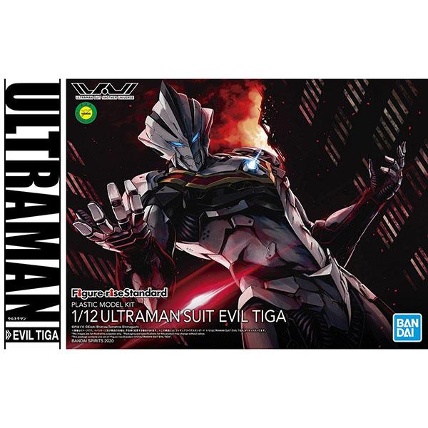 BANDAI 萬代 | Figure-rise Standard 1/12 超人力霸王戰鬥服 | EVIL TIGA(邪惡迪卡)組裝模型