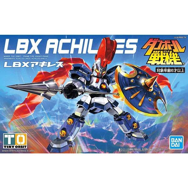 BANDAI 萬代 LBX 紙箱戰機 | 阿基里斯 | 組裝模型