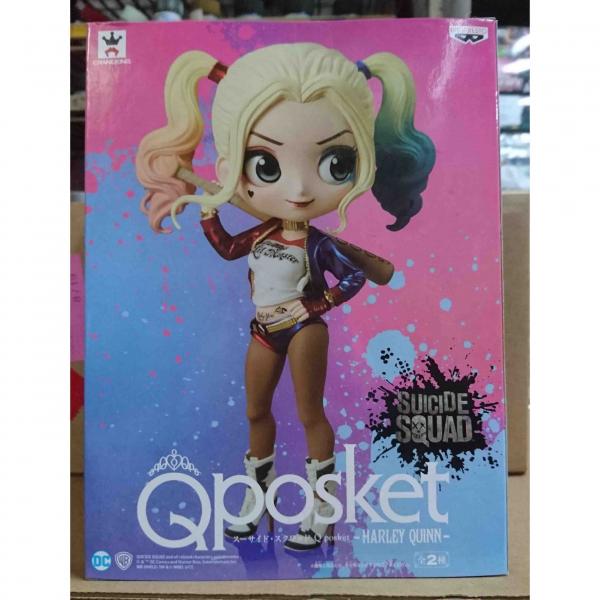 BANPRESTO Q posket  Qposket 小丑女 | 一般色 景品,banpresto,小丑女,哈莉,奎恩,自殺突擊隊,Q,Posket