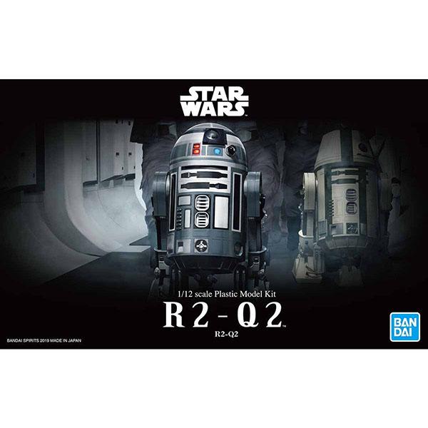 BANDAI 萬代 SW 星際大戰 1/12 R2-Q2 組裝模型