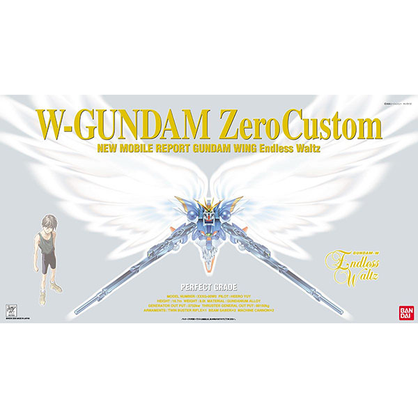 BANDAI 萬代 | PG 1/60 W-02 天使鋼彈 | 組裝模型