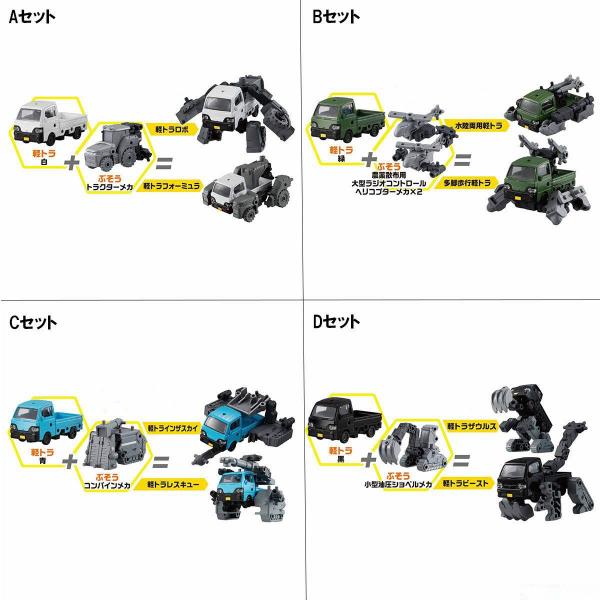 BANDAI 萬代 | 輕型貨車武裝 | 組裝模型