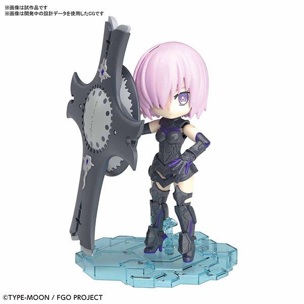 BANDAI 萬代 | PETIT RITS #01 Fate/Grand Order SHIELDER 瑪修 | 基利艾拉特 | 組裝模型