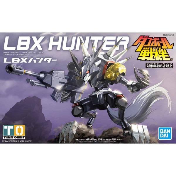 BANDAI 萬代 LBX 紙箱戰機 | 獵人 | 組裝模型