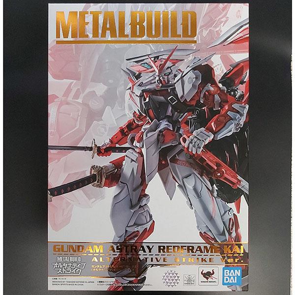 BANDAI 萬代 | METAL BUILD MB 異端鋼彈紅色機改 | 紅異端改(ALTERNATIVE STRIKE Ver.)
