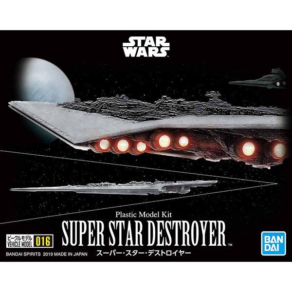 BANDAI 萬代   VEHICLE MODEL 星際大戰   016 超級滅星者   組裝模型