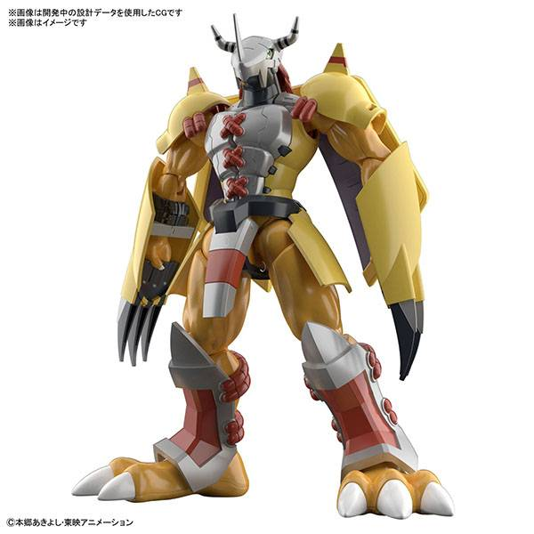 BANDAI 萬代   Figure-rise Standard 數碼寶貝   戰鬥暴龍獸   動畫版   組裝模型 (預訂2021年10月)