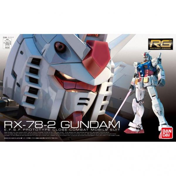 BANDAI 萬代 RG #01 1/144 RX-78-2 鋼彈 | 組裝模型