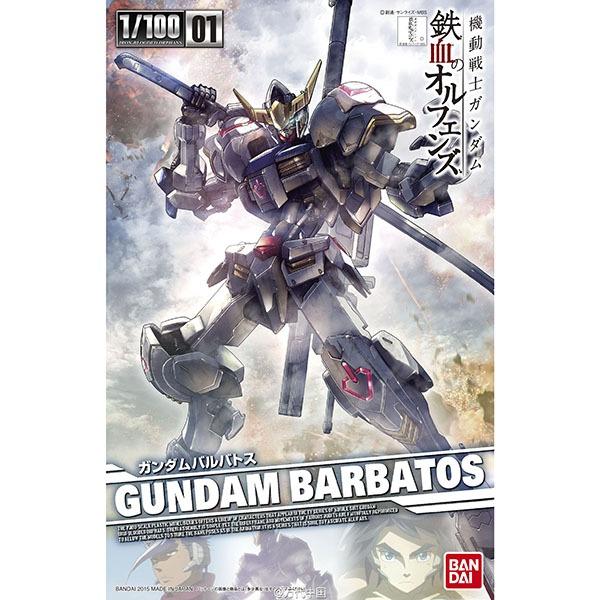 BANDAI 萬代 | IBO #001 1/100 獵魔鋼彈 | 組裝模型