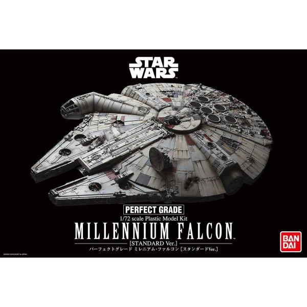 PG 1/72 千年鷹號 (標準版) 0225727 千年鷹,PG,萬代,組裝模型,bandai,Millennium,Falcon